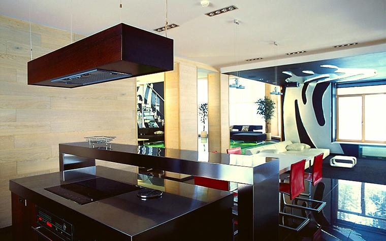 Фото № 1339 кухня  Загородный дом