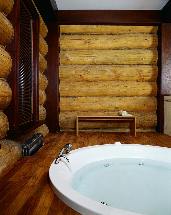 Загородный дом. ванная из проекта , фото №1775