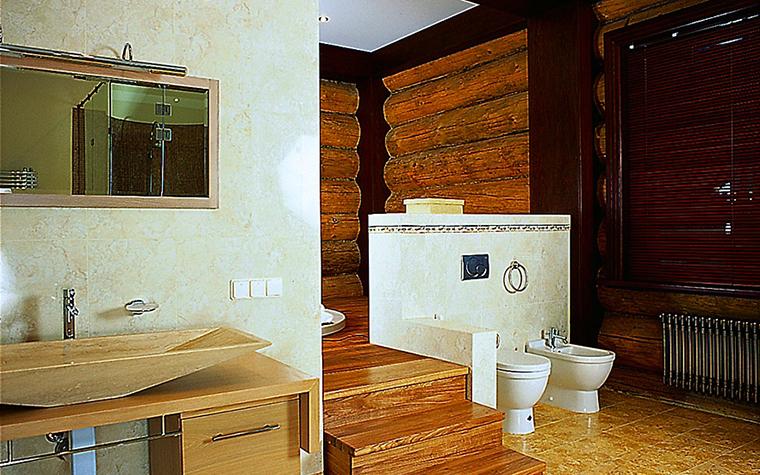 Загородный дом. ванная из проекта , фото №1776