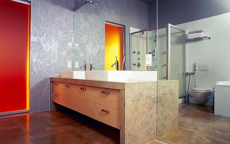 Загородный дом. ванная из проекта , фото №1800