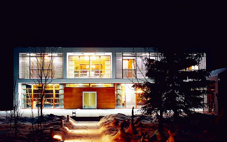 Загородный дом. фасад из проекта , фото №1799