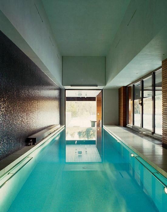Загородный дом. бассейн из проекта , фото №6595