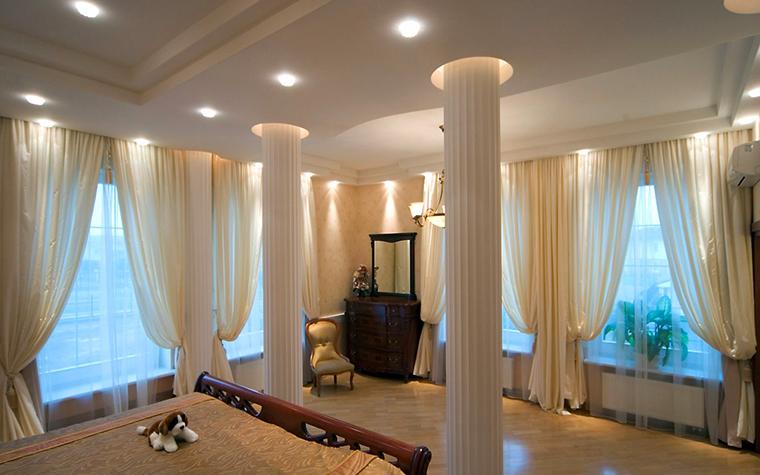 Загородный дом. спальня из проекта , фото №1879