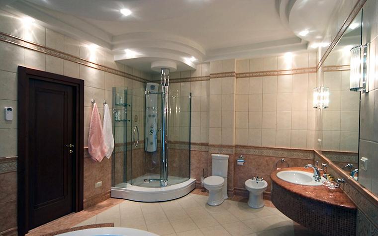 Загородный дом. ванная из проекта , фото №1880