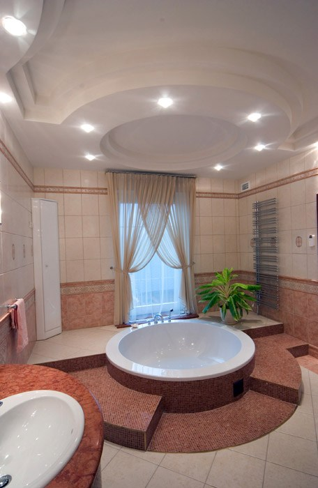 Загородный дом. ванная из проекта , фото №1882