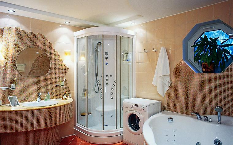Фото № 1908 ванная  Загородный дом