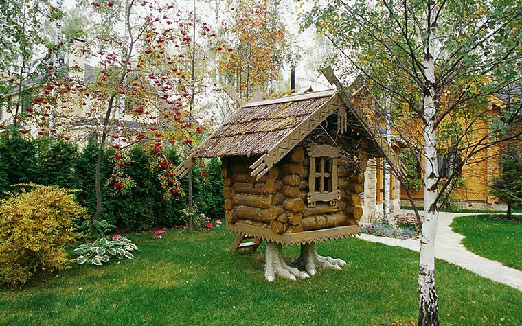 Фото № 1910 детская площадка  Загородный дом