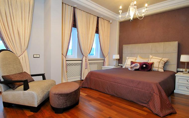 Загородный дом. спальня из проекта , фото №1941