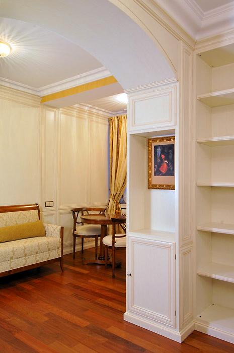 Загородный дом. кабинет из проекта , фото №1939