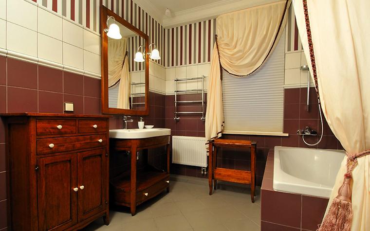Загородный дом. ванная из проекта , фото №1944