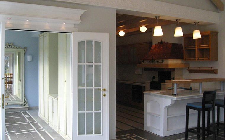 Загородный дом. кухня из проекта , фото №3913