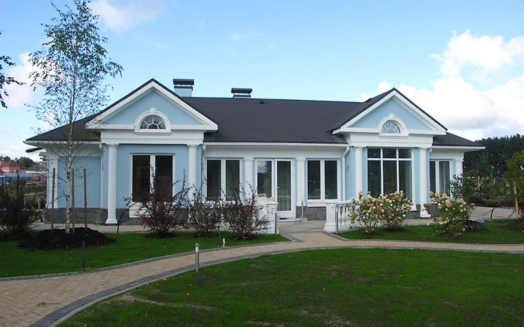 Загородный дом. гостевой дом из проекта , фото №3918