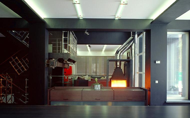 Фото № 2011 гостиная  Загородный дом
