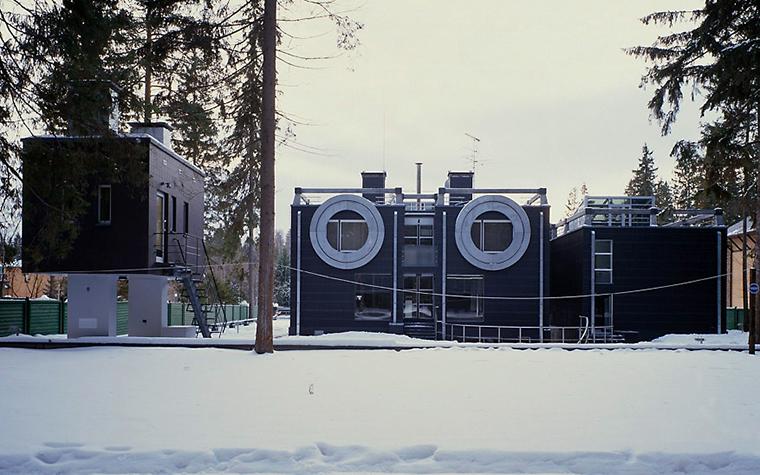 Фото № 2010 фасад  Загородный дом