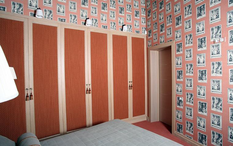 Фото № 2032 спальня  Загородный дом