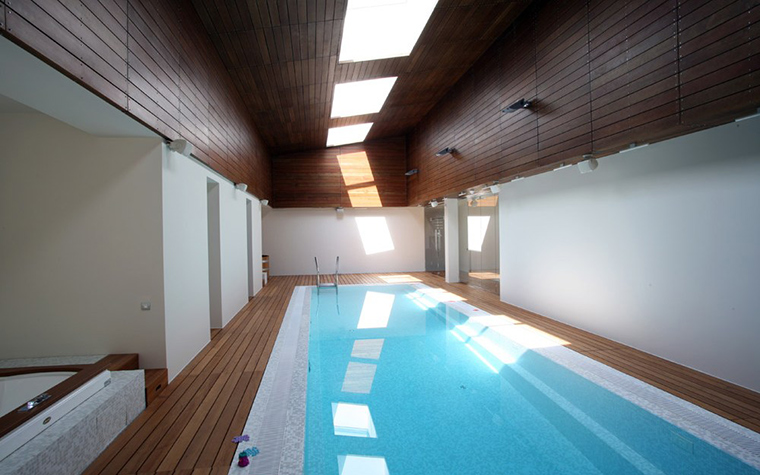 интерьер бассейна - фото № 2036