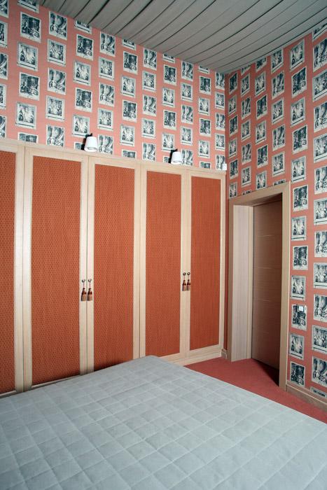 Фото № 2033 спальня  Загородный дом