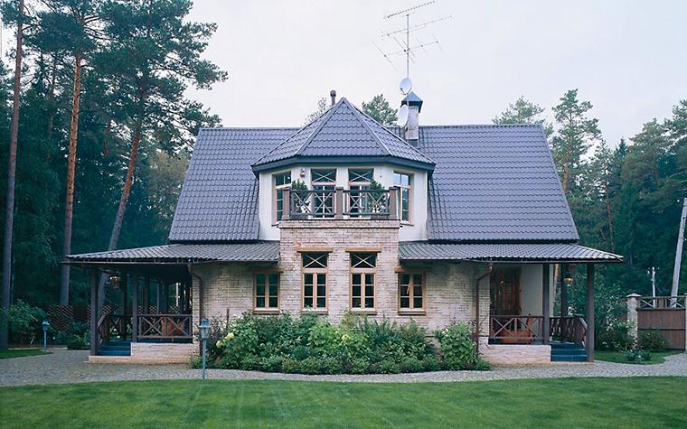 Загородный дом. фасад из проекта , фото №2275