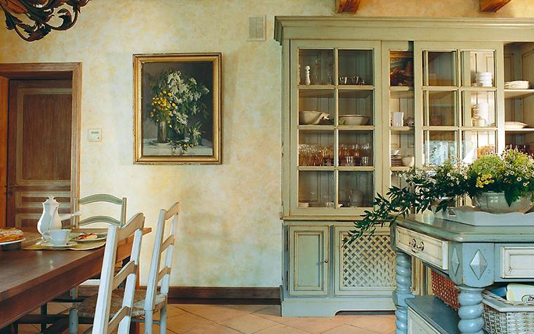 Загородный дом. кухня из проекта , фото №2279