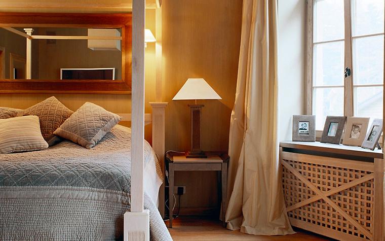 Загородный дом. спальня из проекта , фото №2277
