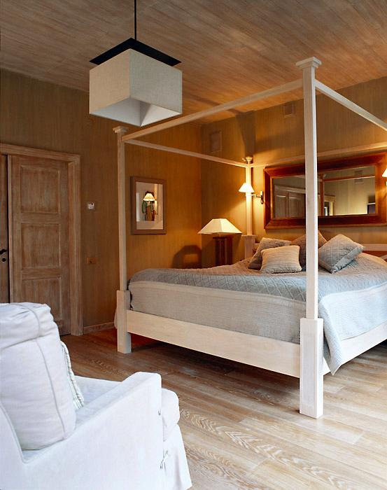 Загородный дом. спальня из проекта , фото №2278