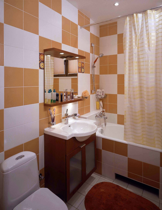Загородный дом. ванная из проекта , фото №2538