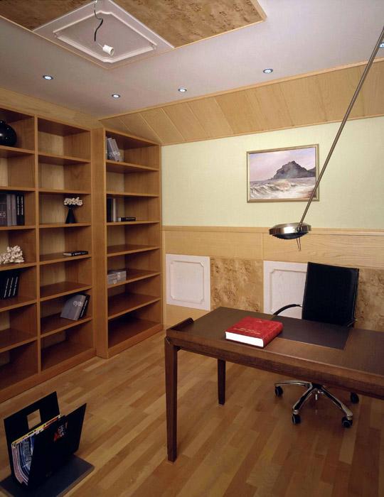 Загородный дом. кабинет из проекта , фото №2539