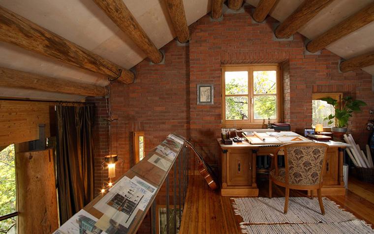 Фото № 2845 кабинет библиотека  Загородный дом