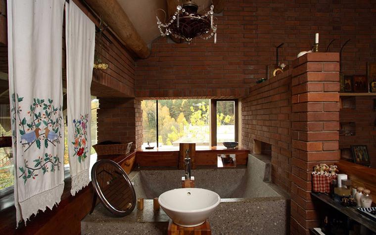 Фото № 2859 ванная  Загородный дом