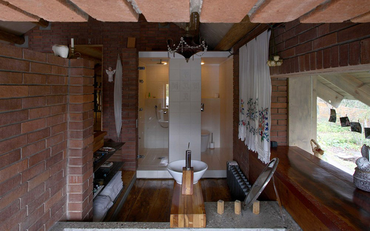 Фото № 2861 ванная  Загородный дом