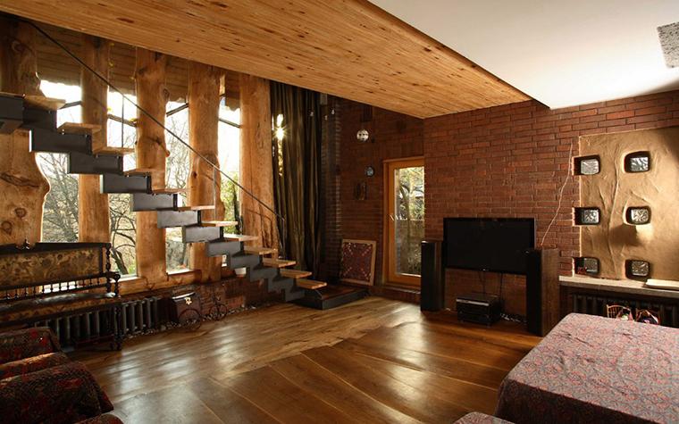 Фото № 2867 гостиная  Загородный дом