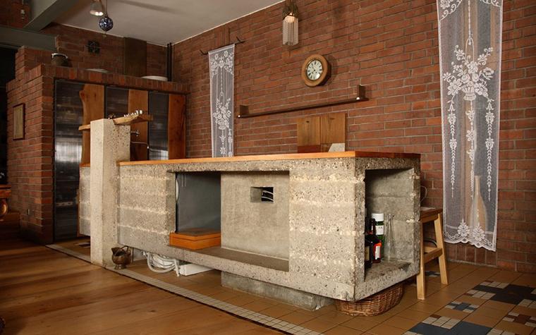 Фото № 2862 кухня  Загородный дом