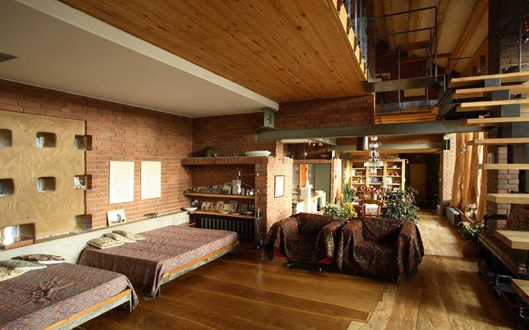 Фото № 2871 гостиная  Загородный дом