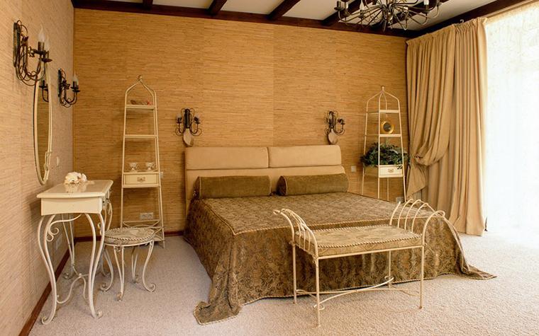 Фото № 3944 спальня  Загородный дом
