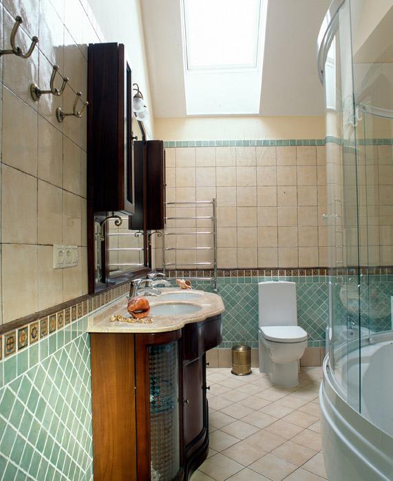 Фото № 3949 ванная  Загородный дом