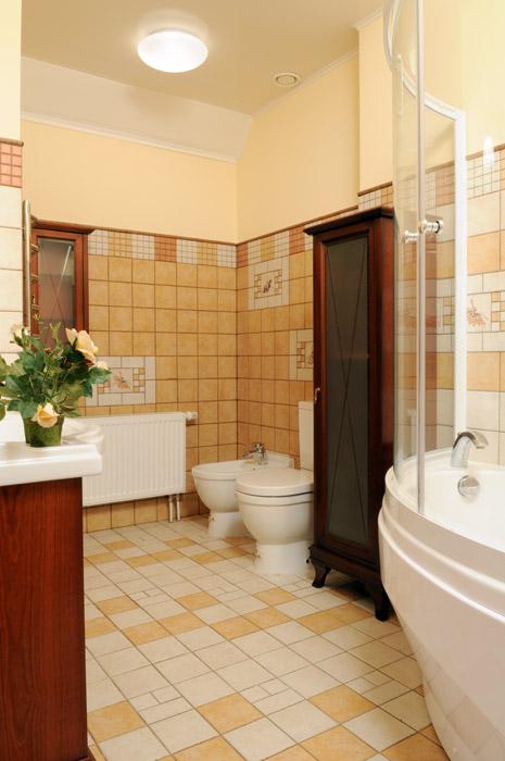 Фото № 3959 ванная  Загородный дом