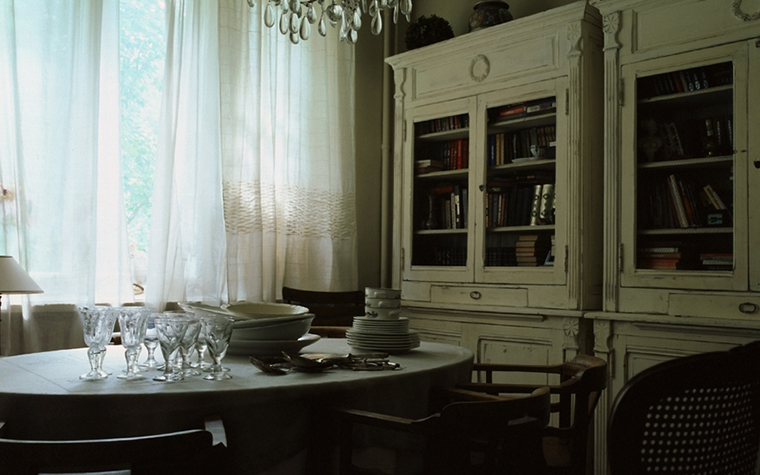 Загородный дом. столовая из проекта , фото №8481