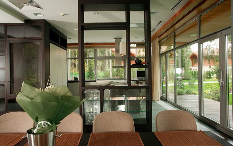 Загородный дом. кухня из проекта , фото №5361