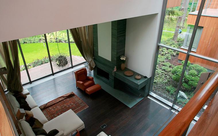 Загородный дом. гостиная из проекта , фото №5358
