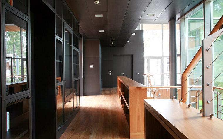 Загородный дом. холл из проекта , фото №5367