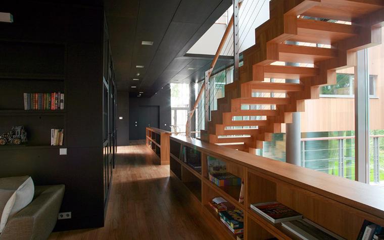 Загородный дом. холл из проекта , фото №5368