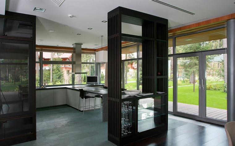 Загородный дом. кухня из проекта , фото №5362