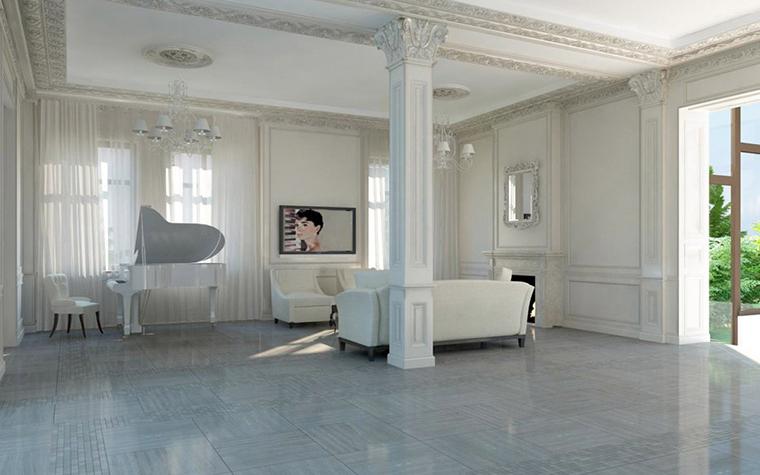 интерьер гостиной - фото № 5388