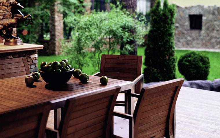 Загородный дом. веранда лоджия из проекта , фото №5970