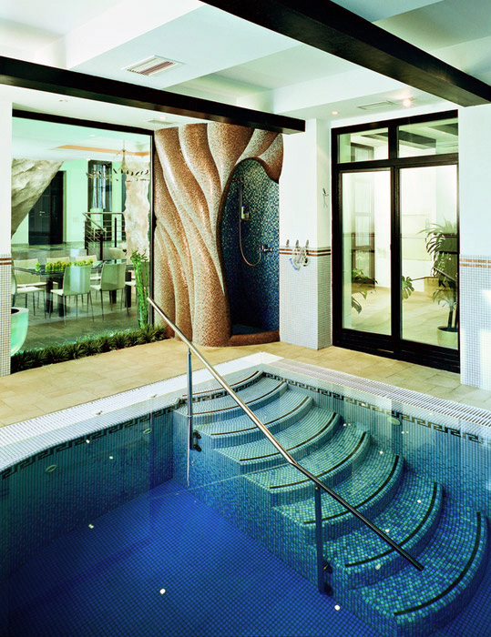 Загородный дом. бассейн из проекта , фото №5971