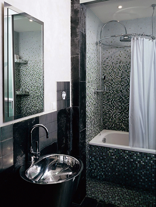 Загородный дом. ванная из проекта , фото №6030