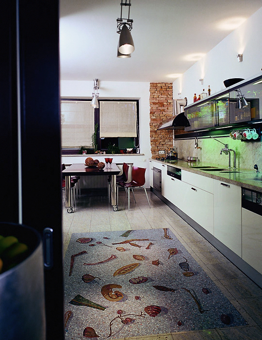 Загородный дом. кухня из проекта , фото №6031