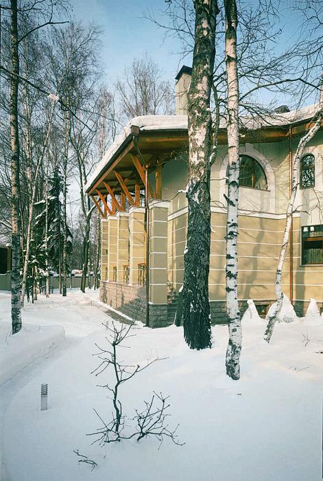 Загородный дом. фасад из проекта , фото №3429