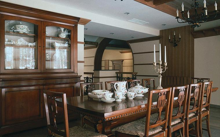 Загородный дом. столовая из проекта , фото №3432