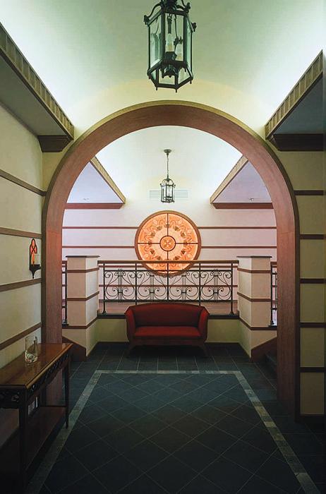 Загородный дом. холл из проекта , фото №3438